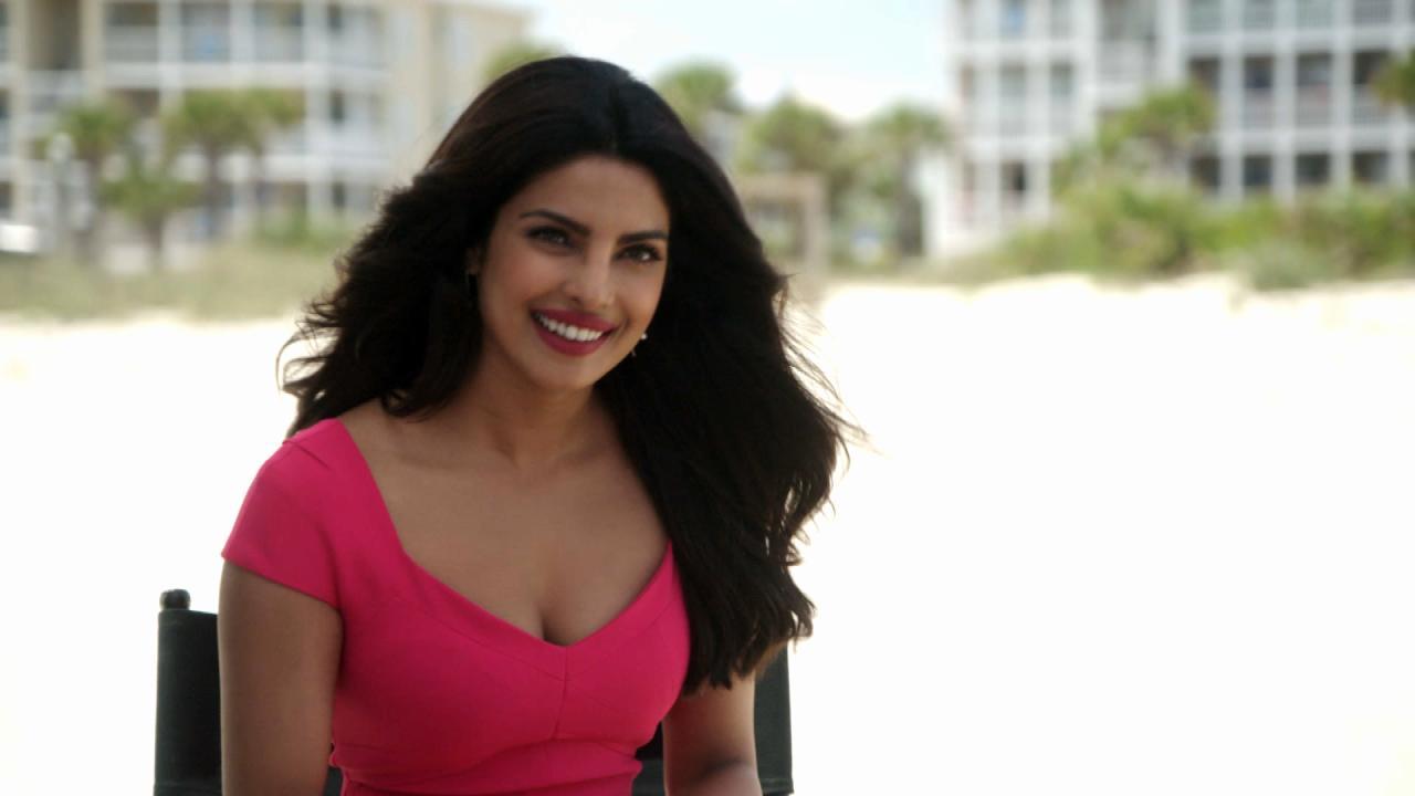 exclusive: 'baywatch' villain priyanka chopra dishes on her favorite