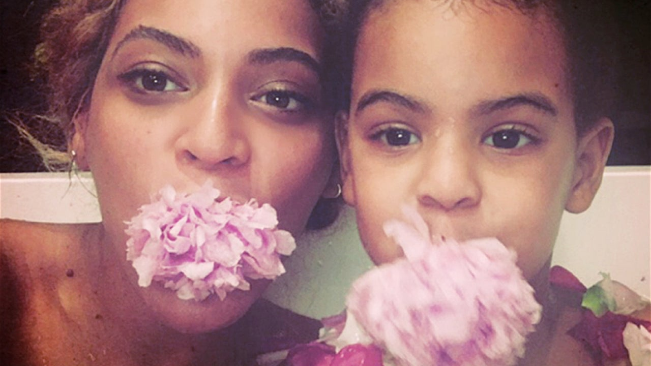 Beyonce Shares Silly Selfie With Blue Ivy And Pics Of Mothers Day