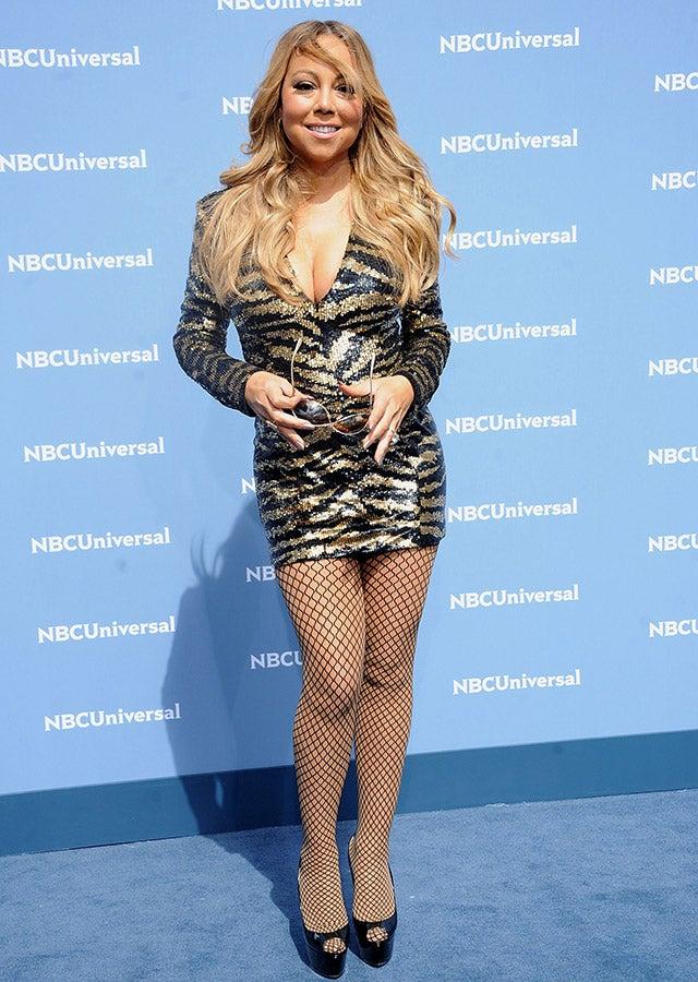 Beyonce And Mariah Carey Rock The Same Balmain Minidress