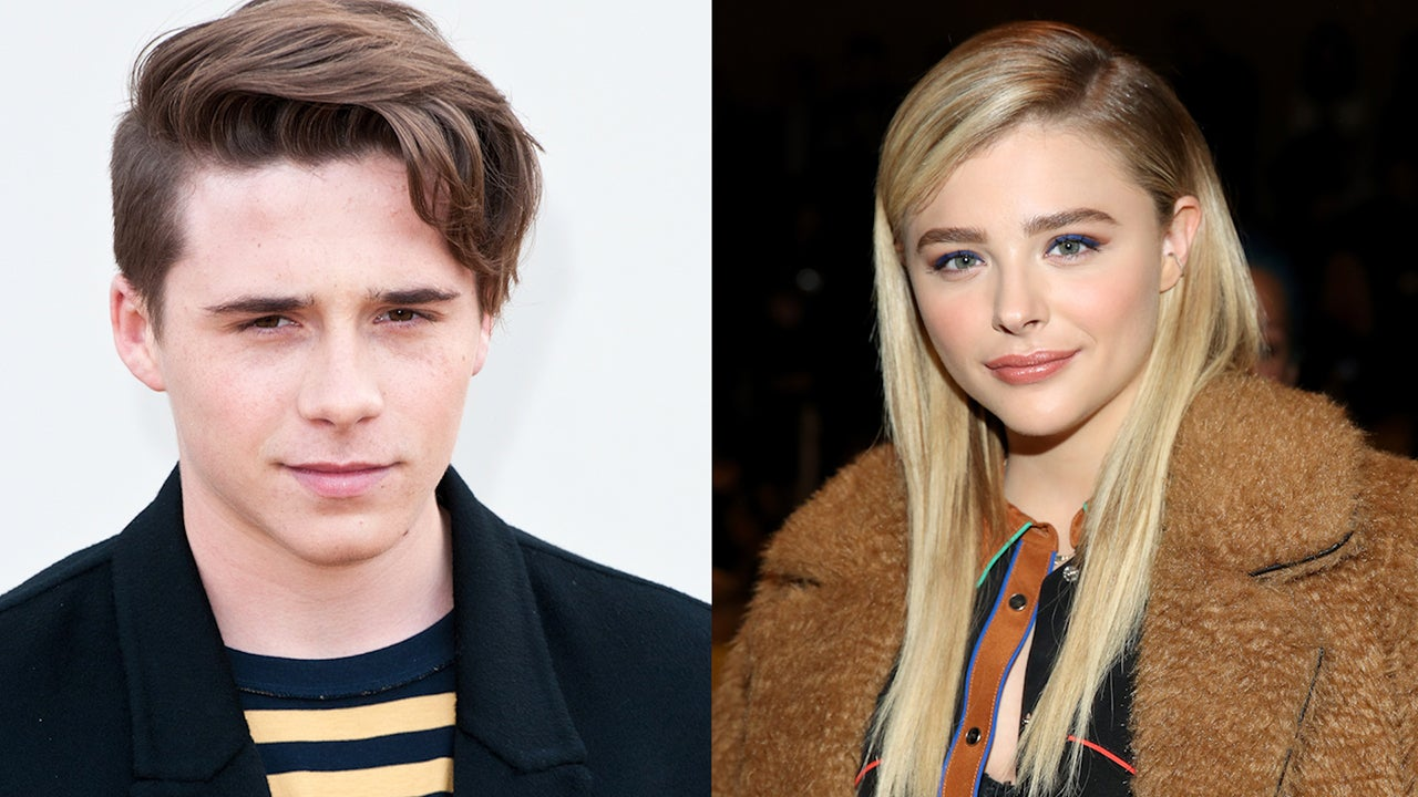 Chloe Grace Moretz and Brooklyn Beckham Can't Stop