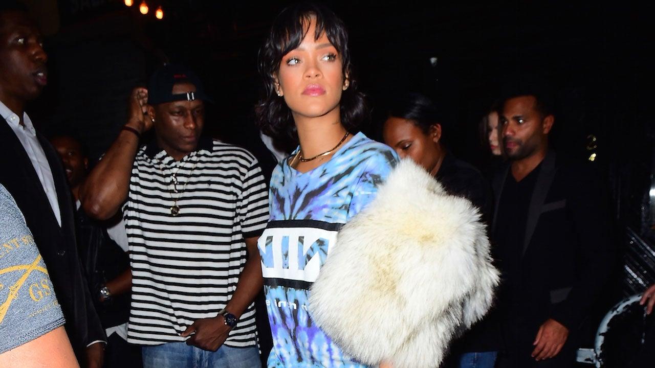 Rihanna Shows Up To Same Club As Leonardo Dicaprio And