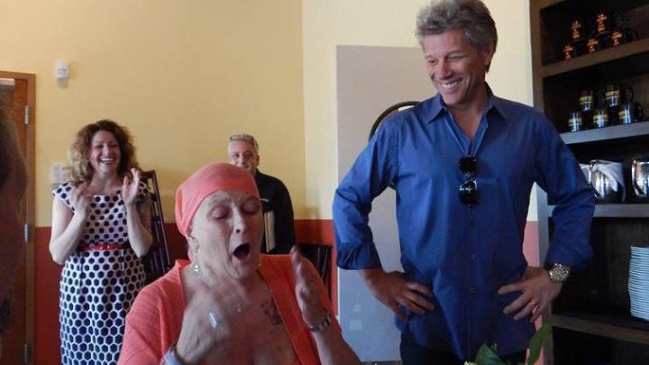 Watch Jon Bon Jovi Surprise Fan Who Is Fighting Stage 4 Cancer