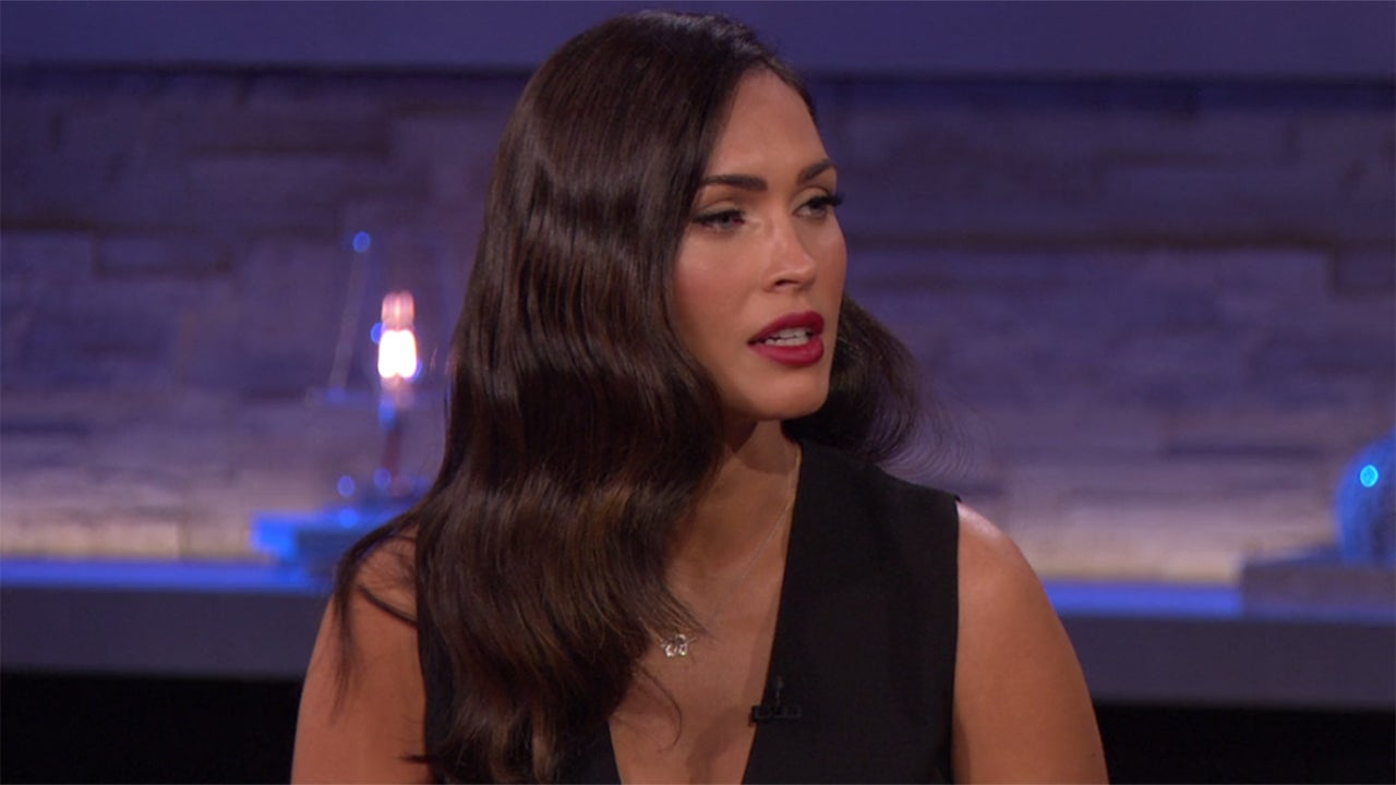 Megan fox reveals shes due any minute says she always knew megan fox reveals shes due any minute says she always knew motherhood was a big part of my path entertainment tonight geenschuldenfo Choice Image