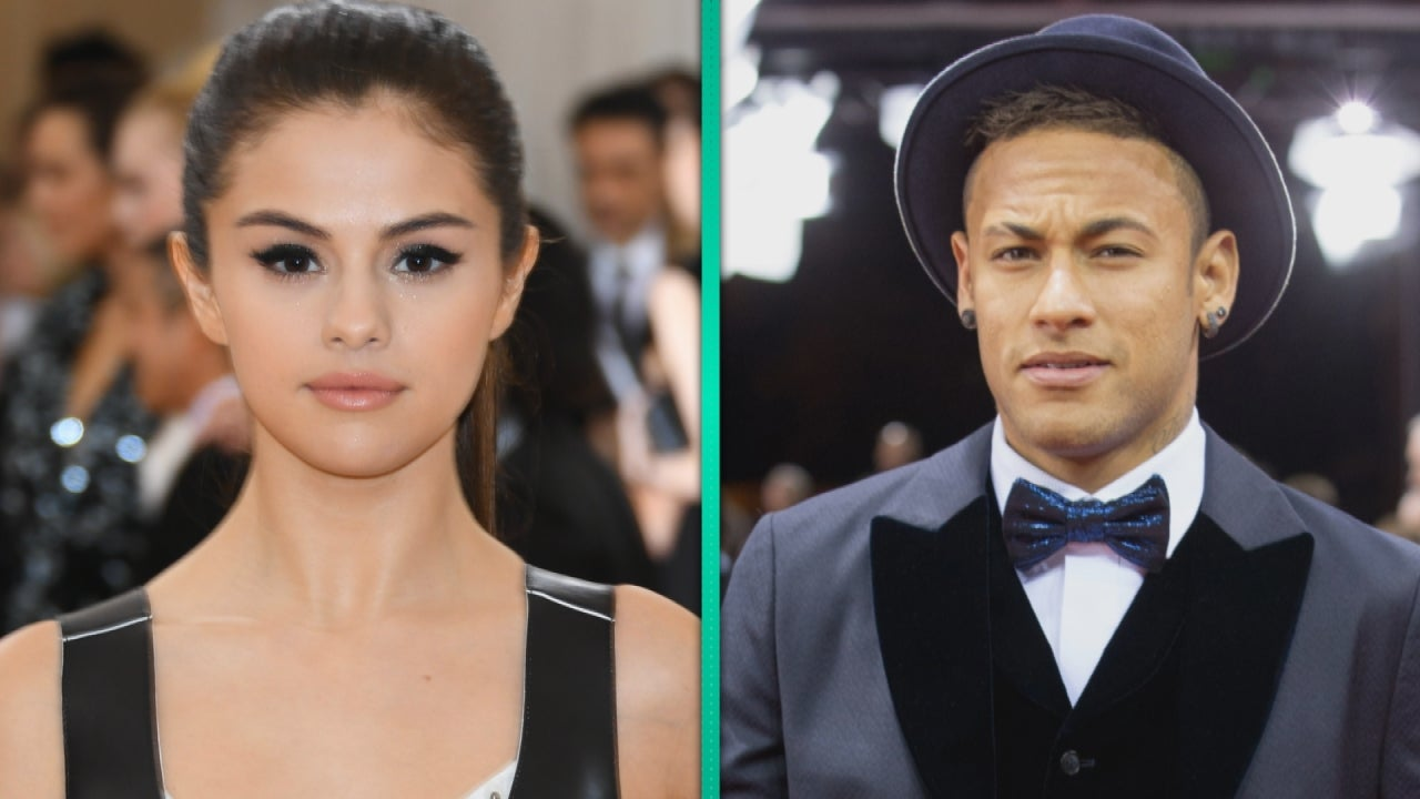 Selena Gomez And Soccer Superstar Neymar Jr Spotted At Same Hotel Whats Really Going On Entertainment Tonight