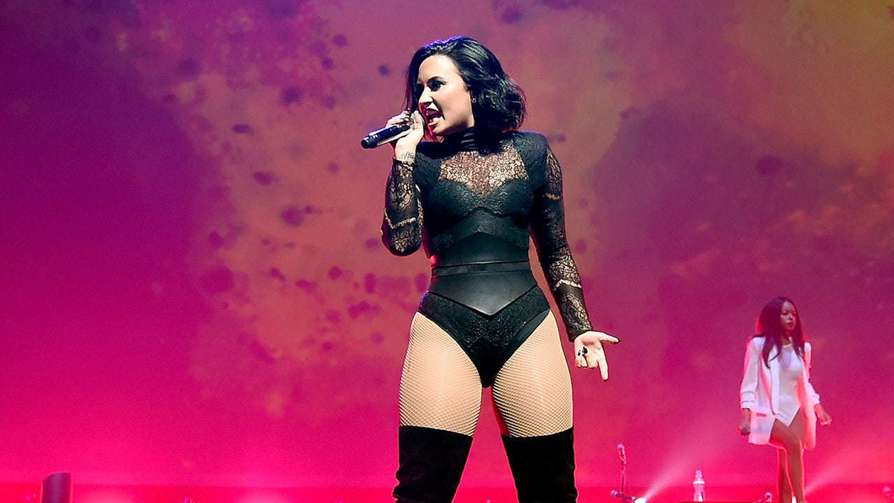Demi Lovato Goes Topless For New Single 39 Body Say 39 Cover