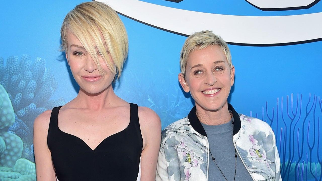 Ellen And Portia Ellen Degeneres Says Portia De Rossi Understands Me Completely