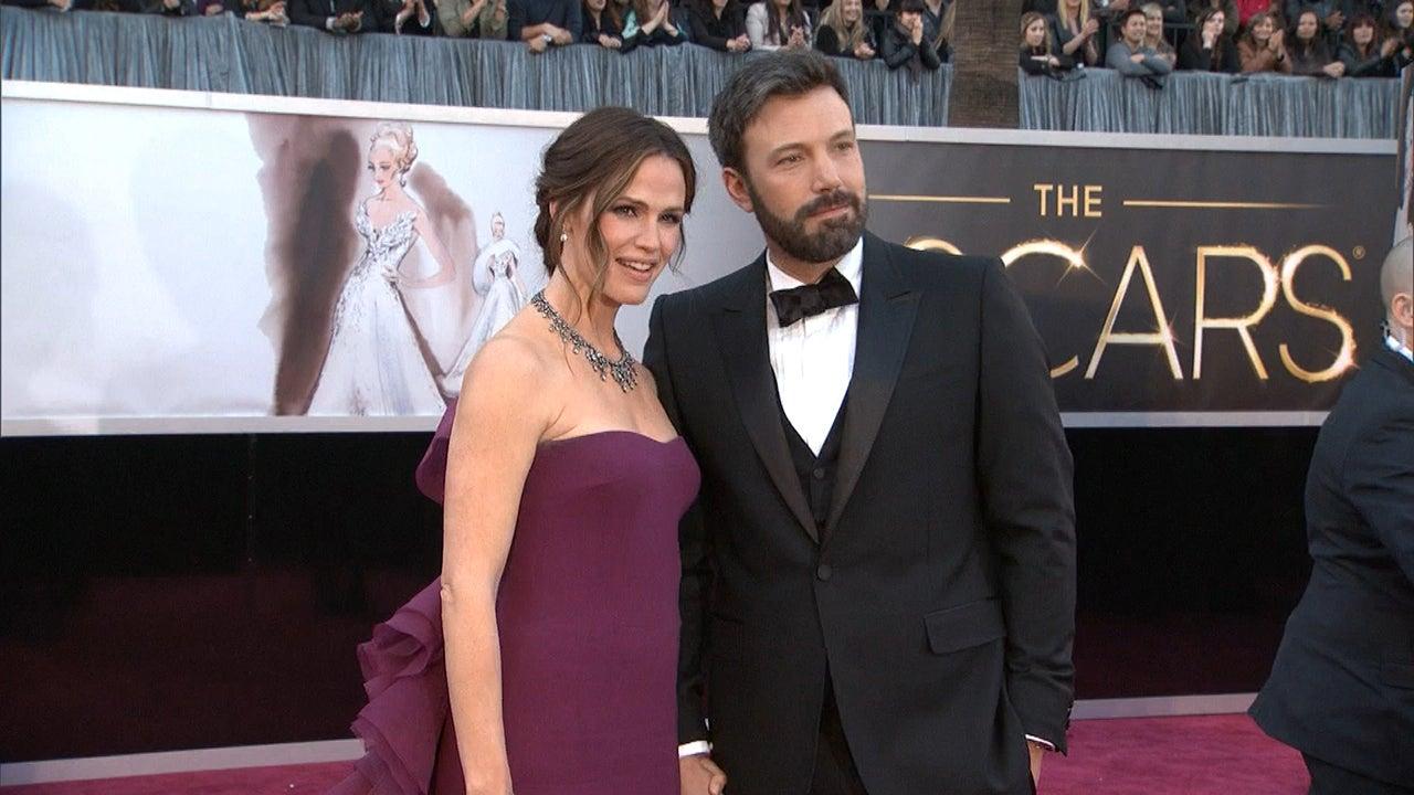 Ben Affleck And Jennifer Garner Red Carpet