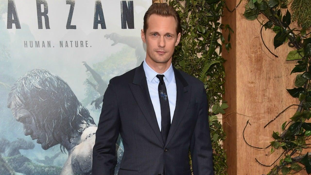 Alexander Skarsgard had to eat a whopping 7,000 calories a day to play Tarzan