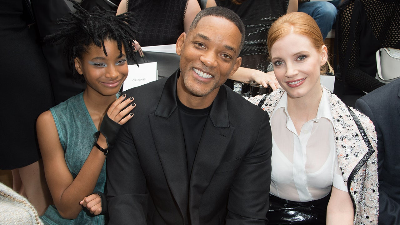 Will Smith Looks Ageless at Chanel Show With Daughter ...