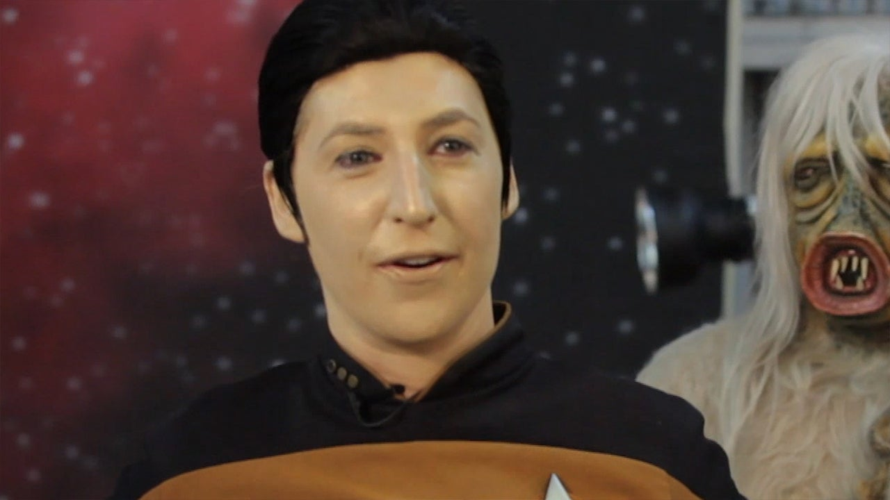 Mayim Bialik Channels Her Inner Spock, Captain Kirk and ...