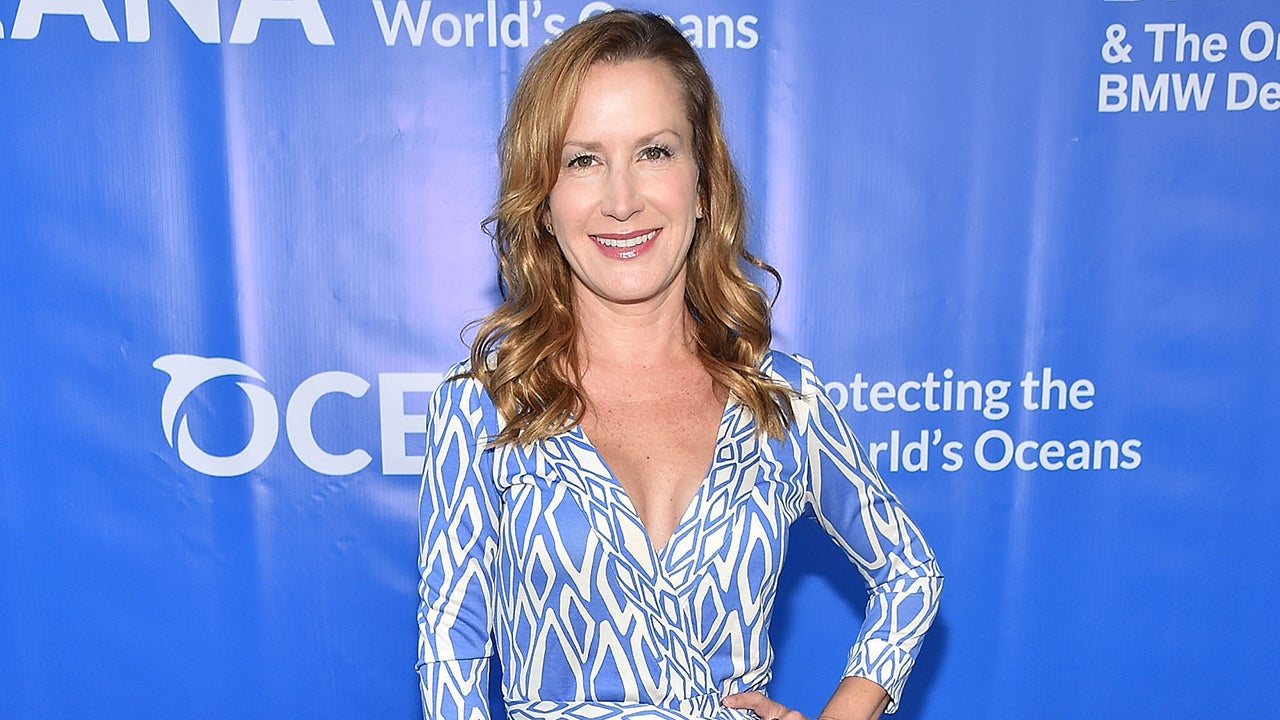Office Star Angela Kinsey Engaged See Her Unique Ring Entertainment Tonight