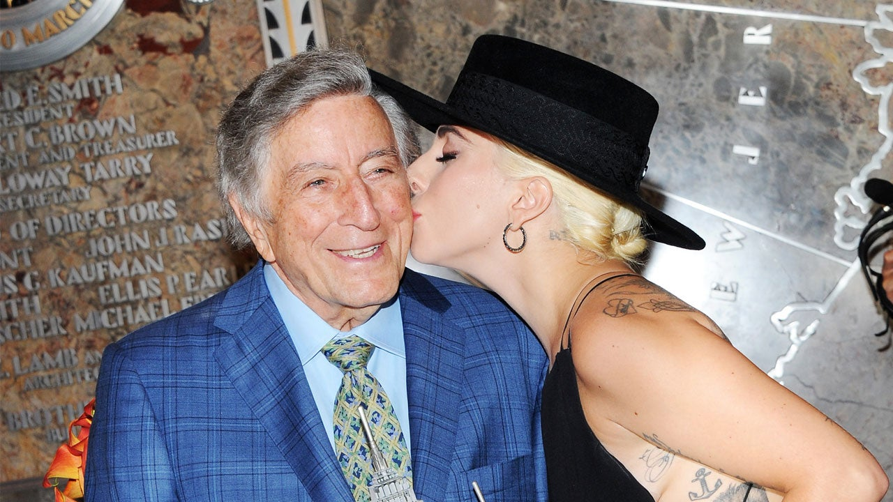 Lady Gaga Helps Tony Bennett Ring In 90th Birthday In