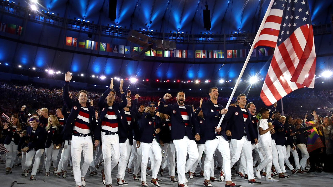 australia olympic team clothing