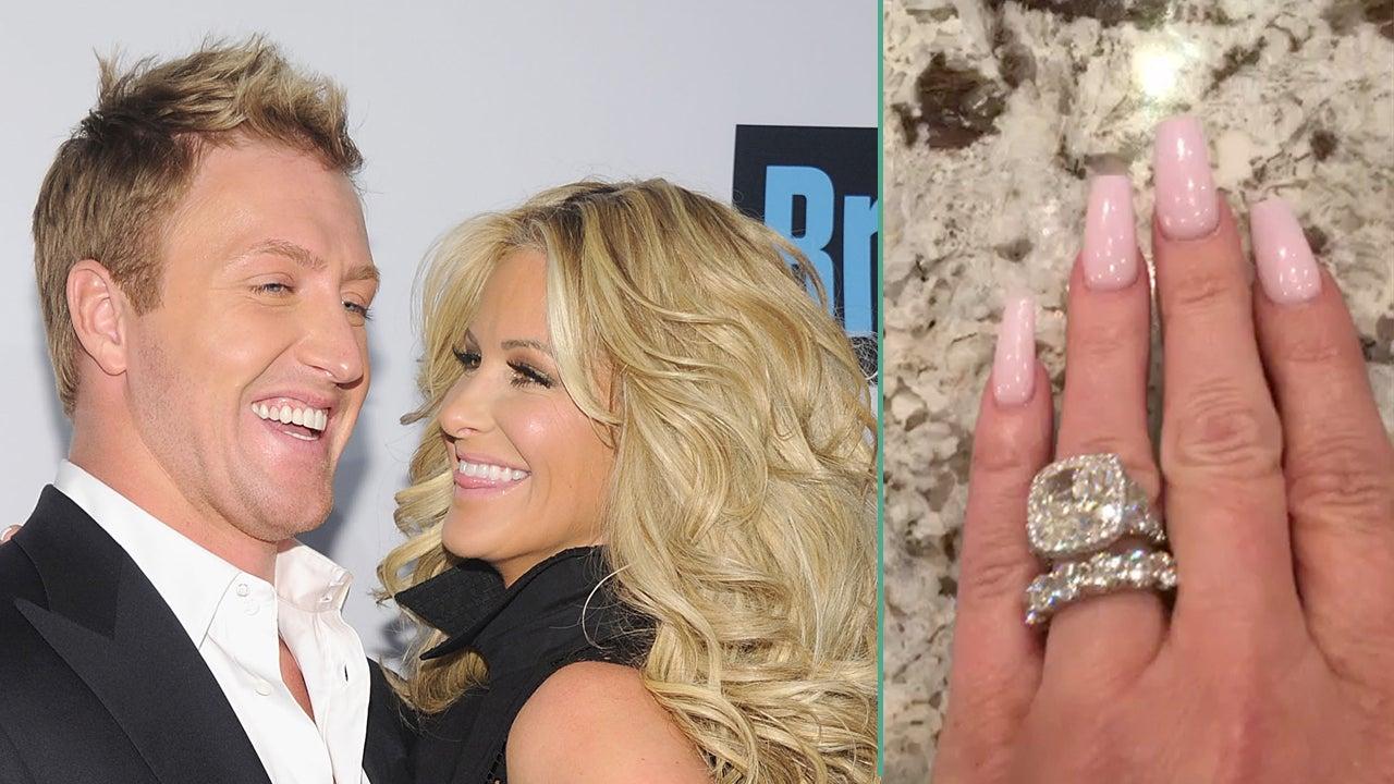 New York Wedding Rings 28 New Kim Zolciak Shows Off