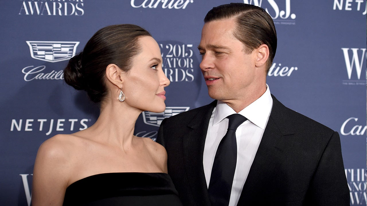 Angelina and brad pitt dating