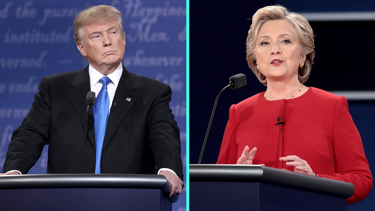 celebs speak out about historic presidential debate as hillary clinton and donald trump face off. Black Bedroom Furniture Sets. Home Design Ideas