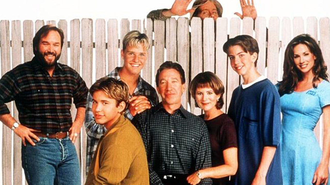 Cast of 39 home improvement 39 then and now entertainment for Wallpaper home improvement questions