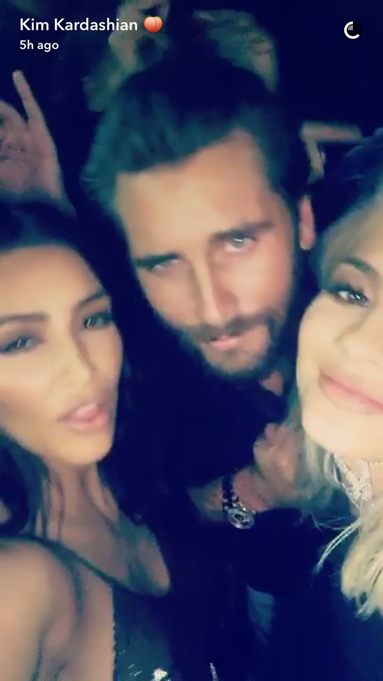 Kim Kardashian Scott Disick And Kylie And Kendall Jenner