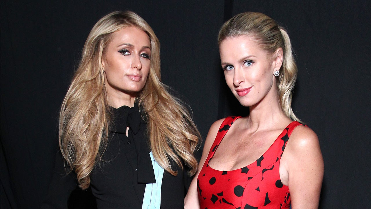 Sisters Unite! Paris and Nicky Hilton Look Adorable in ...