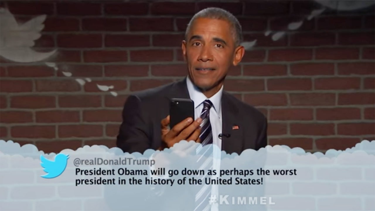 Mean Tweets President Obama Edition - Celebrities Read ...