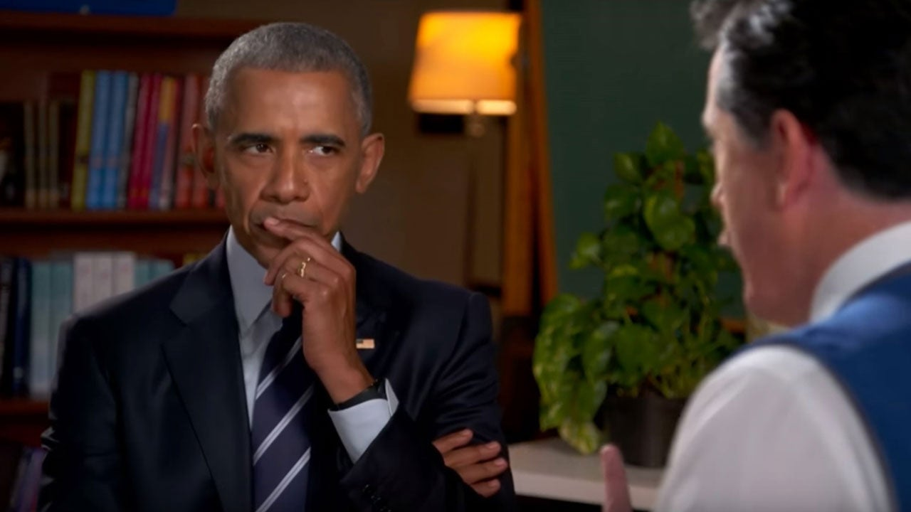 barack obama gets resume help from stephen colbert with