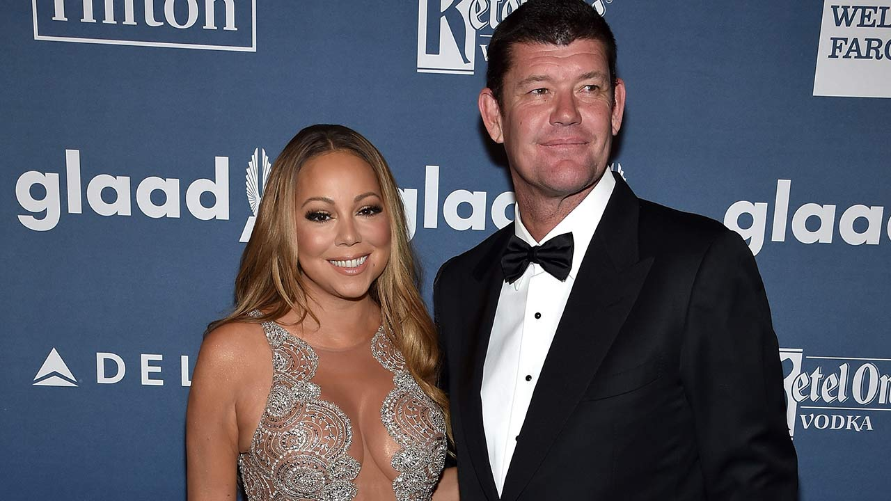 Mariah Carey and James Packer on May 14, 2016, at the GLAAD Media Awards