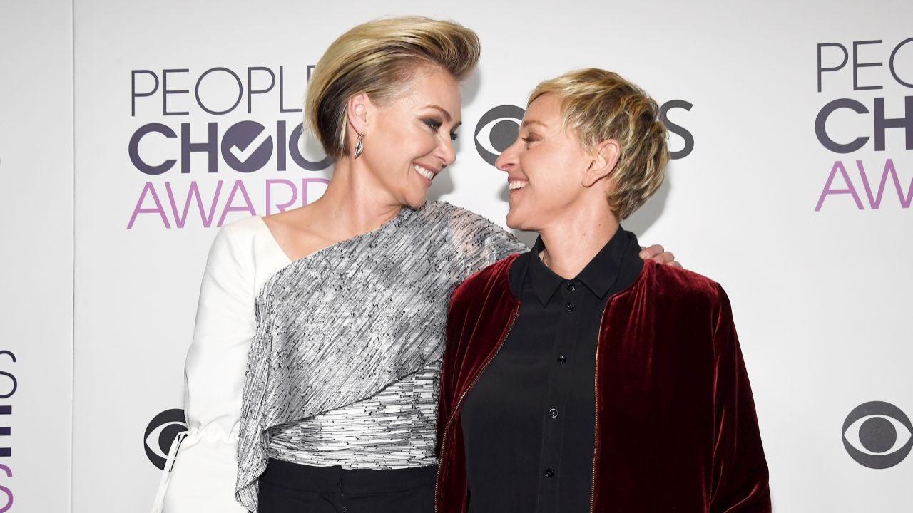 Ellen And Portia Ellen Degeneres Shares Sweet Message For Portia De Rossi On 9 Year