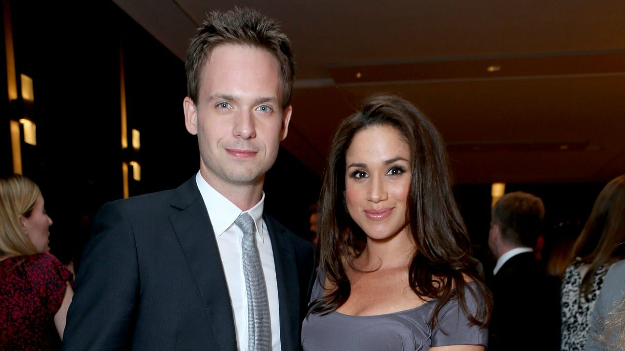 patrick j adams and meghan markle dating - photo #9