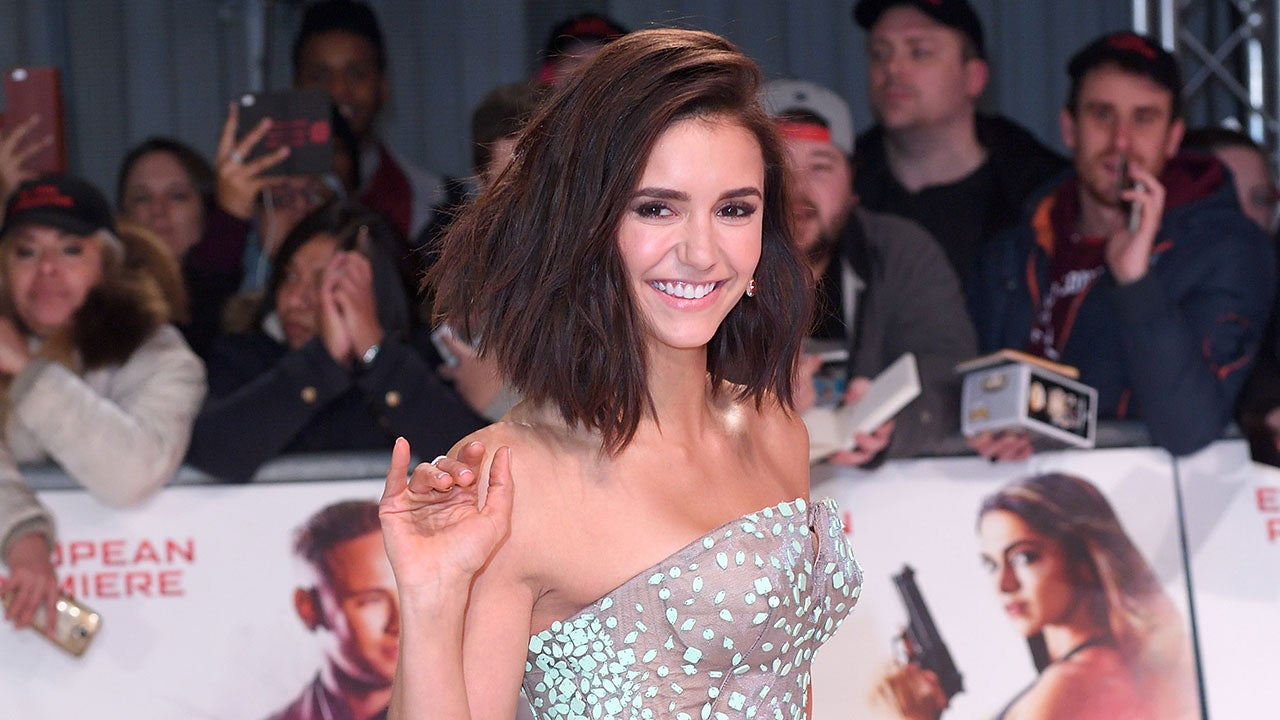 Nina Dobrev Gushes About Julianne Hough S Wedding In Sweet Post I M Honored To Have Been Your Bridesmaid Entertainment Tonight