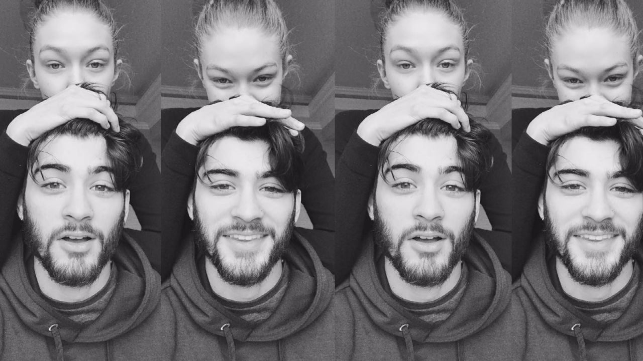 zayn malik and gigi hadid cuddle up in cute new pic entertainment
