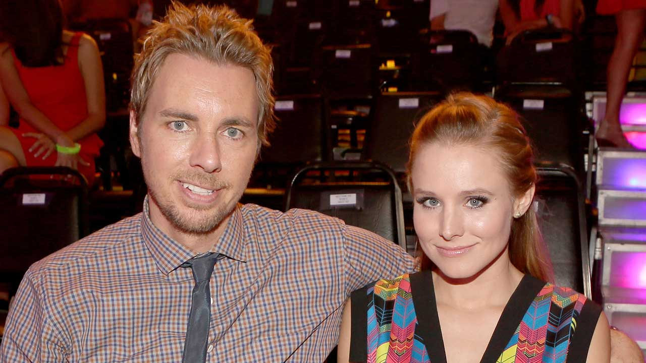 Dax Shepard Shares Sweet Throwback Pic With Kristen Bell