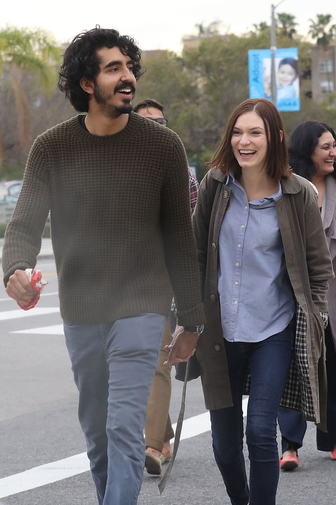 Dev Patel Spotted Holding Hands With Rumored Girlfriend ... Freida Pinto Dev Patel