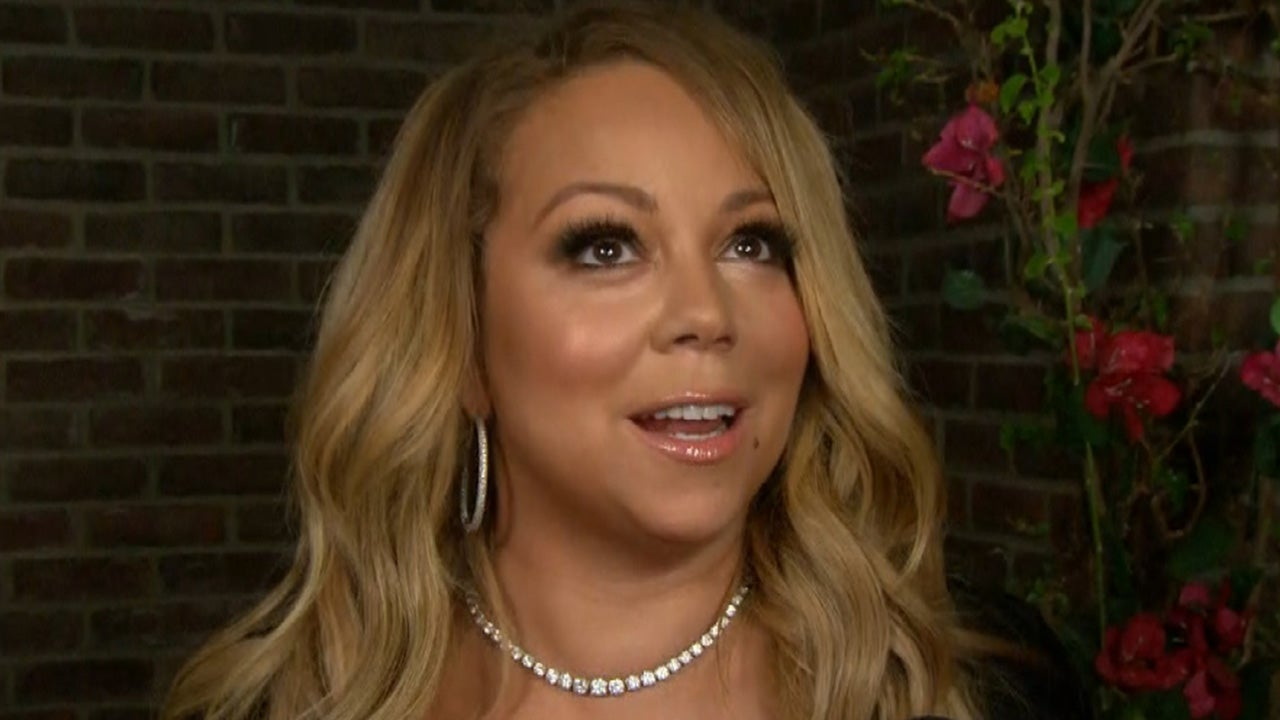 7f4477113ef EXCLUSIVE  Mariah Carey Reveals Benefits of Working Out in Heels ...