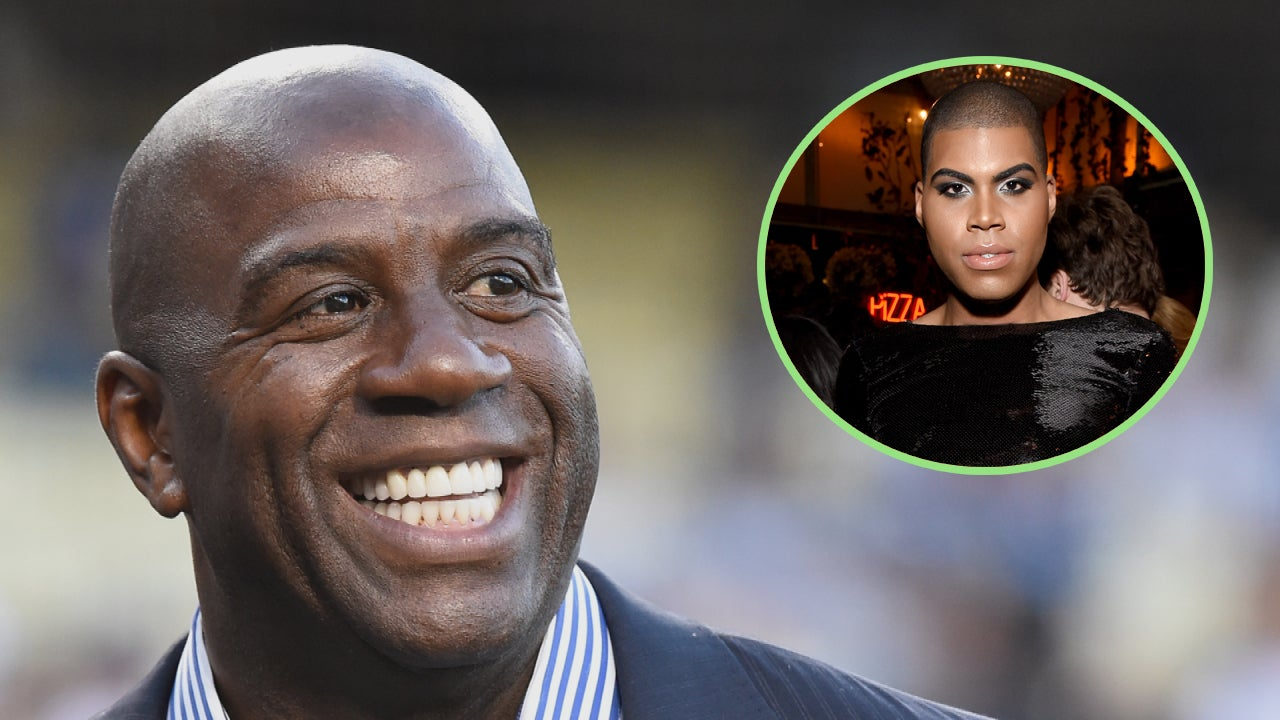 Magic Johnson Discusses His Son EJ s ing Out With Ellen