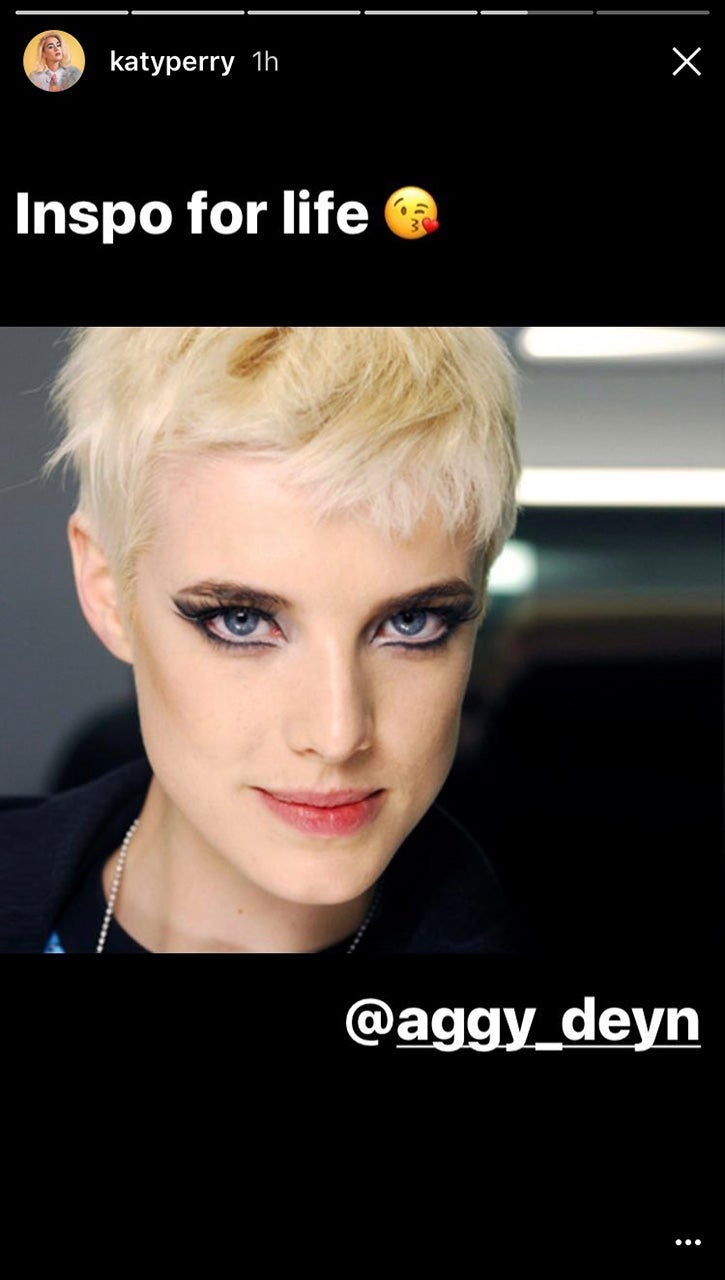 Katy Perry Cuts Her Hair Even Shorter Dyes It All Blonde