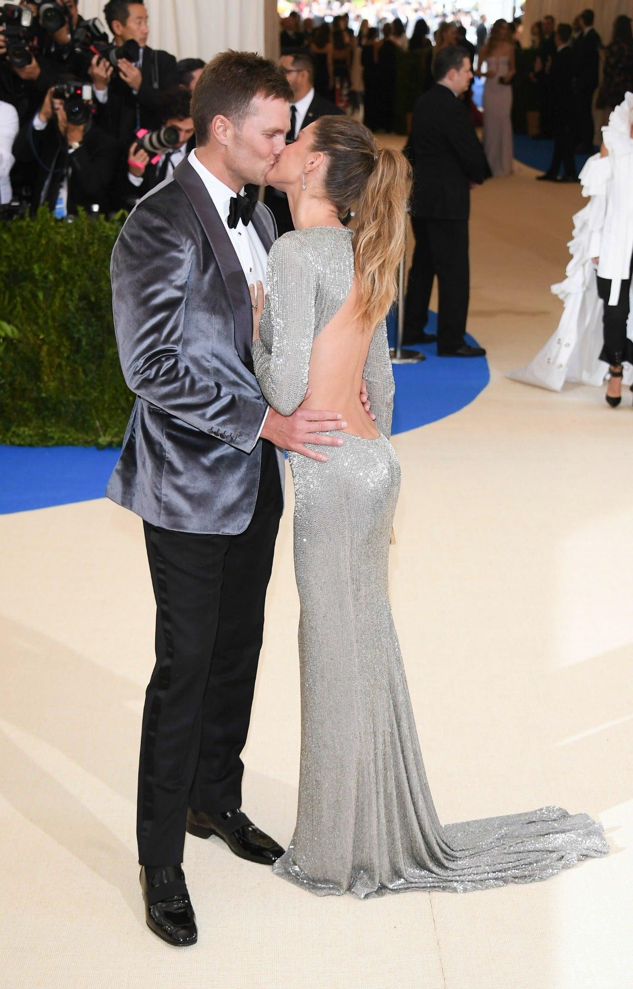 Tom Brady And Gisele Bundchen Pack On The Pda On Met Gala