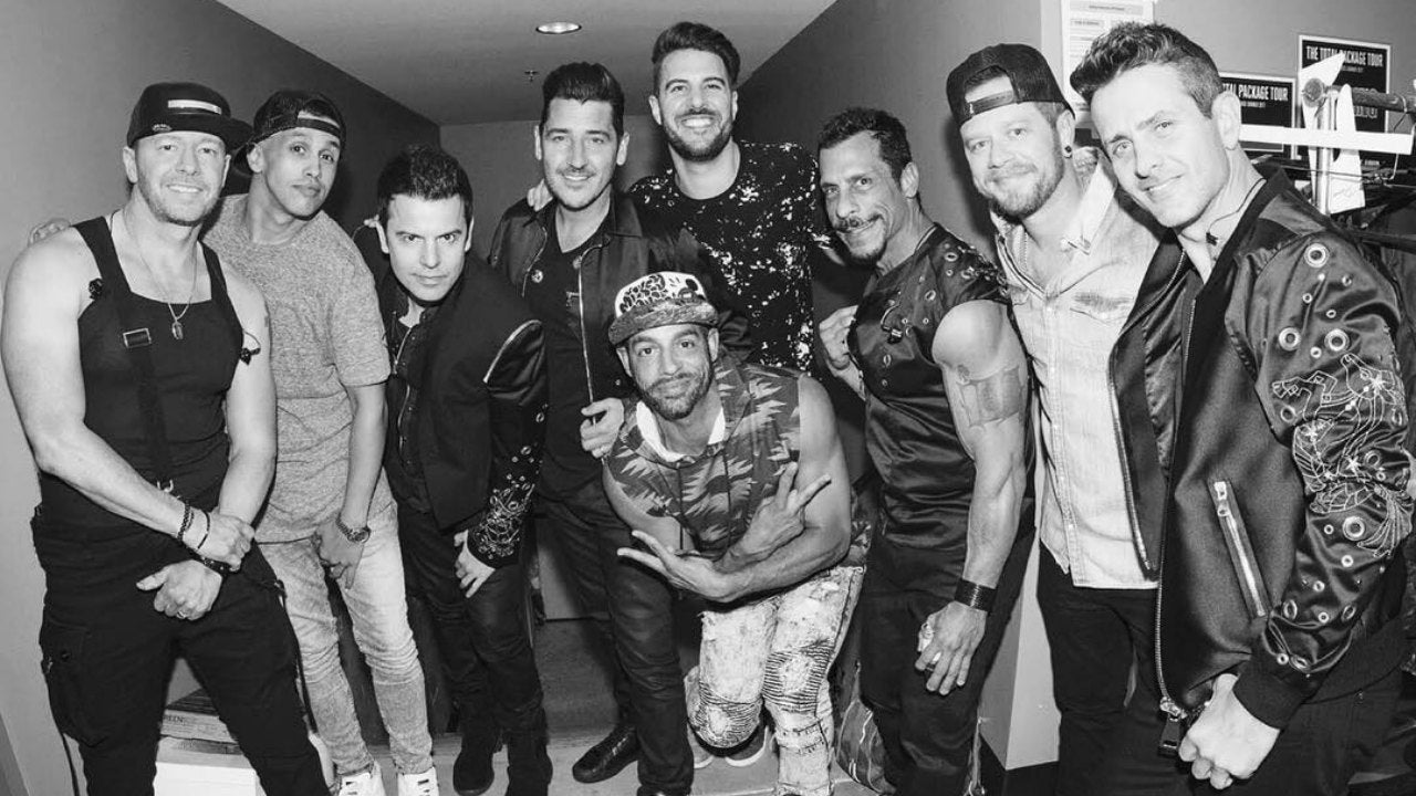 See Which Boy Band Crashed New Kids on the Block\'s Epic L.A. Show ...