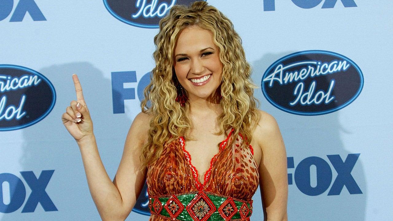 Carrin Underwood in American Idol