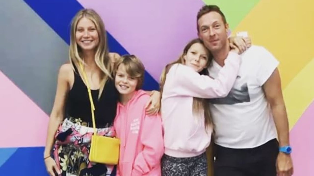 Gwyneth Paltrow and Ex Chris Martin Celebrate Daughter ...