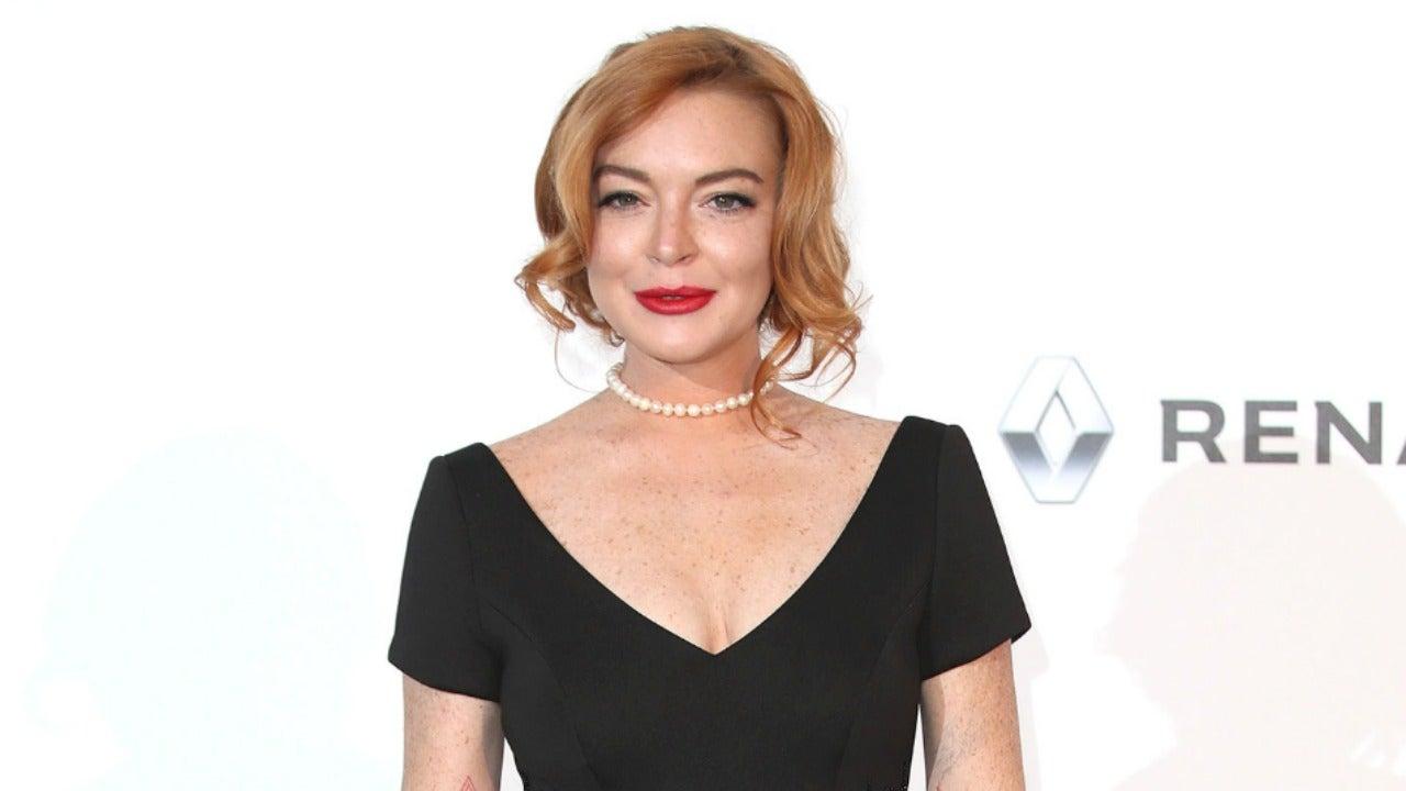 Lindsay Lohan Kicks Off Birthday Celebrations in Mykonos After ...