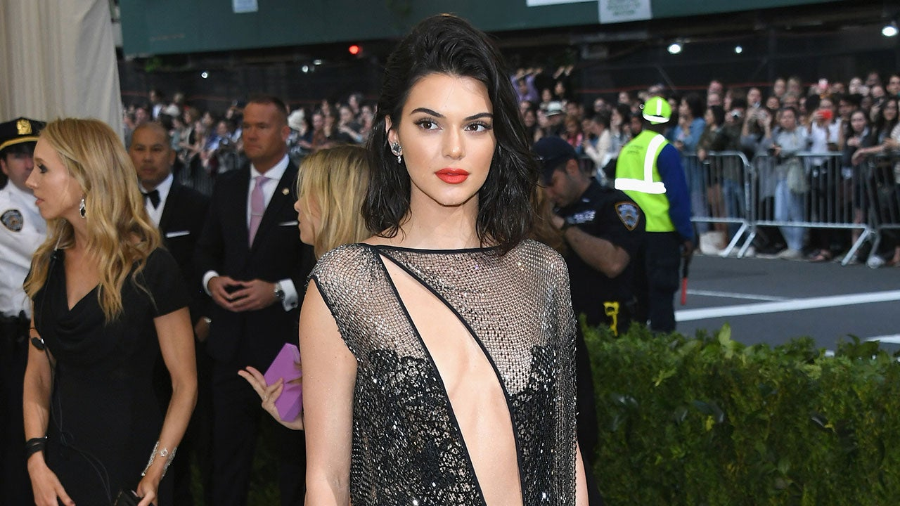 Kendall Jenner Shows Off Bare Butt In Sheer Dress At The