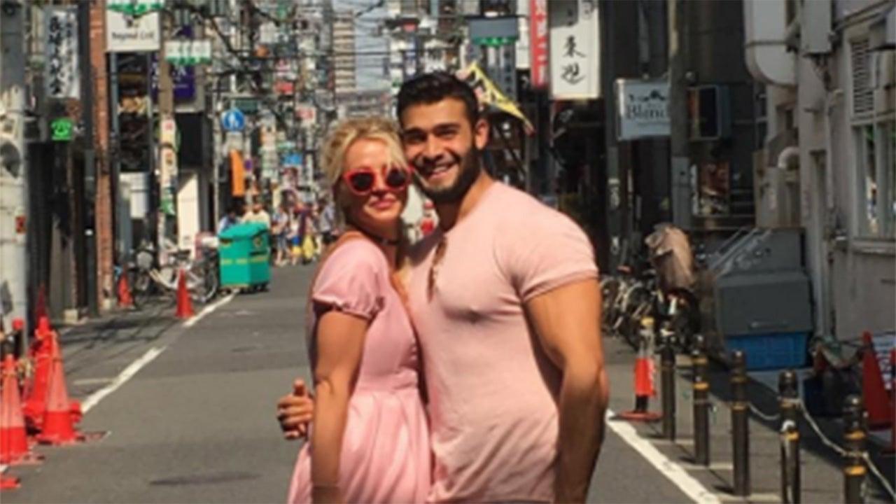 Britney Spears Boyfriend Sam Asghari Visits Her In Japan