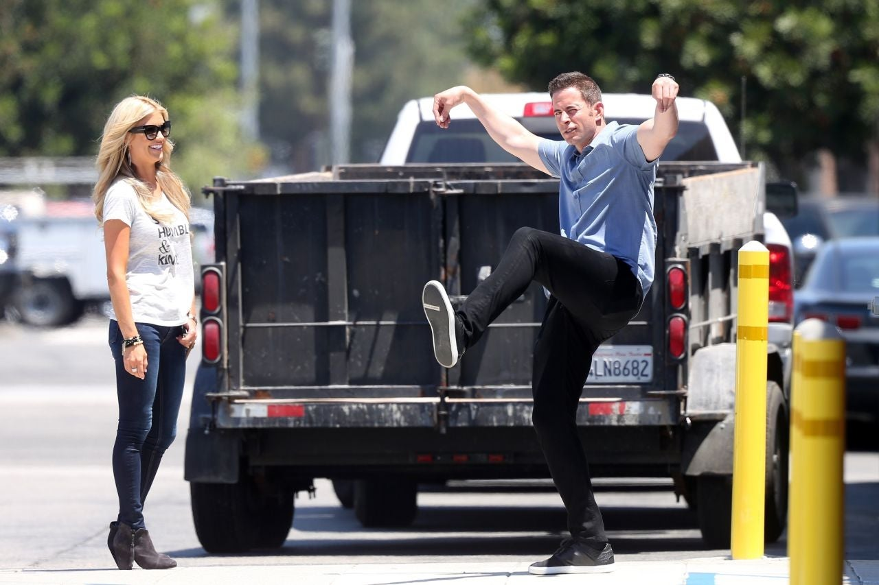 tarek and christina el moussa continue to prove they u0027re amicable