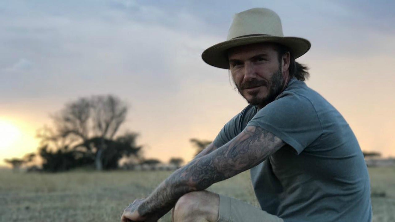 David Beckham Enjoys Family Vacation in Africa See the Pics