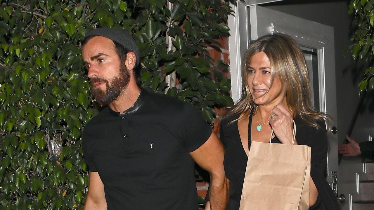 Jennifer Aniston Is a Glowy Goddess During Night Out With ...