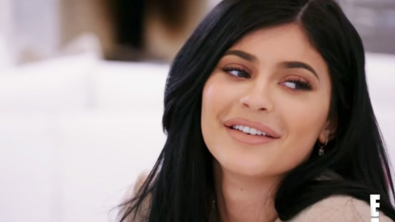 Kylie Jenner reignites boob job rumours in fringed dress Daily