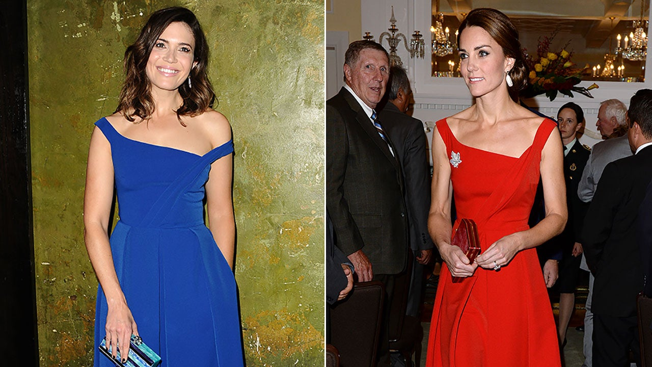 Mandy Moore Rocks the Same $1,250 Dress as Kate Middleton: See the ...