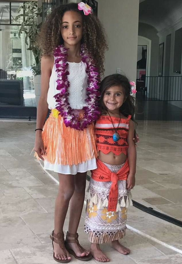 north west and penelope disick celebrate joint moana