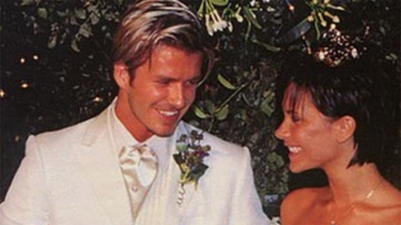 Victoria And David Beckham Celebrate 18th Anniversary With