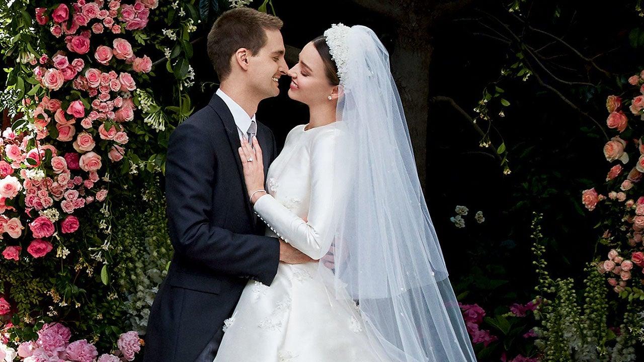 Miranda kerr reveals her stunning wedding dress to marry for Spiegel 0nline